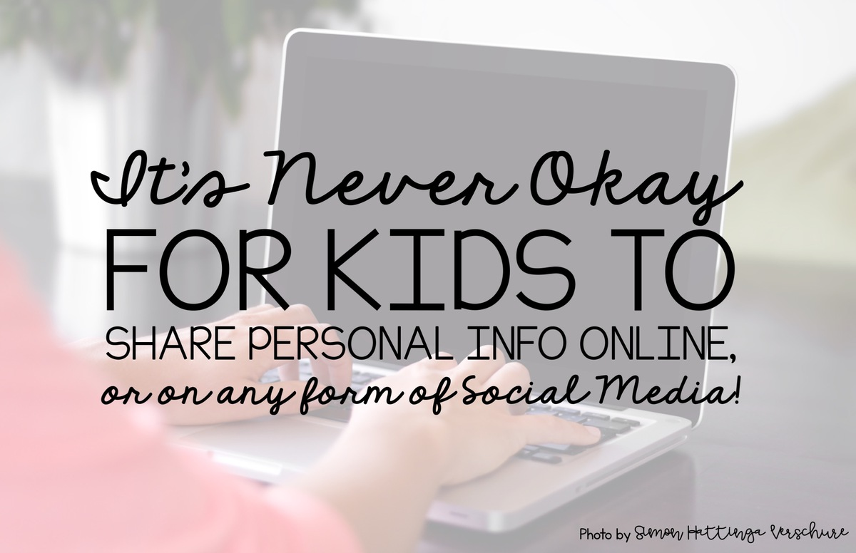 Learning personal information is an essential life skill for kids